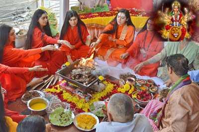 devi bhagwat path